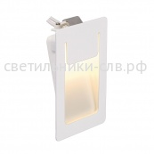 DOWNUNDER PUR 80x120 светильник встраиваемый 350mA с COB LED 3.6Вт, 3000K, 265lm, белый